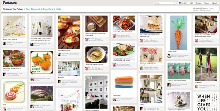 Desenvolvimento de sites e sistemas / O que é Pinterest?