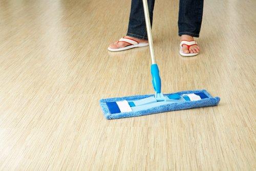 Limpeza de pisos