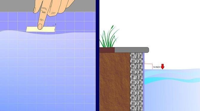 vazamento de piscina