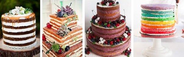 Doces, bolos e salgadinhos / Conheça a tendência do bolo desmontado