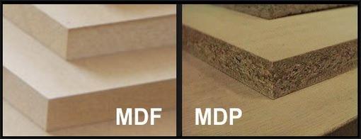 Marceneiro / Qual a diferença entre madeira MDP e MDF