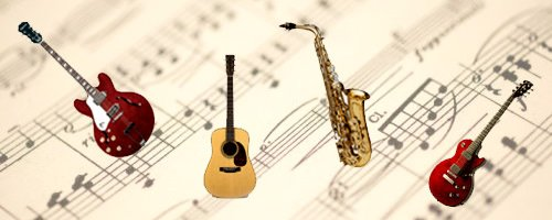 Aulas / Benefícios de aprender um instrumento musical