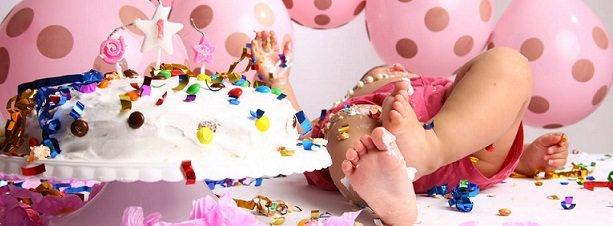 Eventos / Lambuze seu filho no Smash the Cake