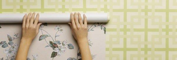 Pintor / Como tirar o papel de parede