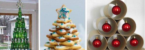 Decoração de Festas / Dicas para montar a árvore de natal de um jeito diferente