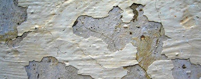 Pedreiro / Como evitar descascamento de paredes