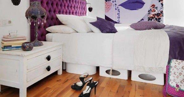 Decorador / Ideias para aproveitar o espaço embaixo da cama