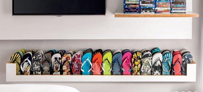 Moda e Beleza / Organize seus sapatos: ideias de sapateiras