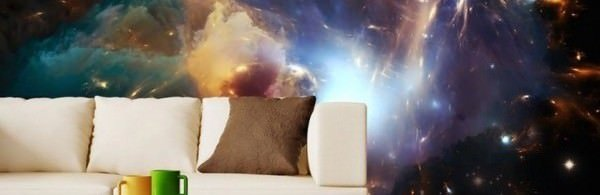Decorador / Decoração temática de planetas e galáxias
