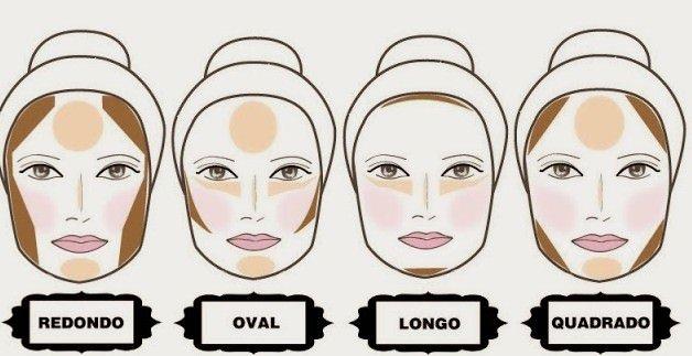 Resultado de imagem para contorno maquiagem