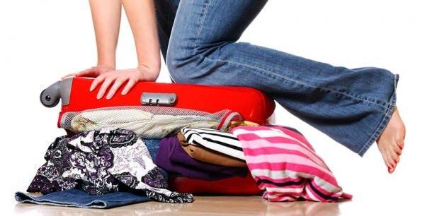Passadeira / Como fazer a mala da volta