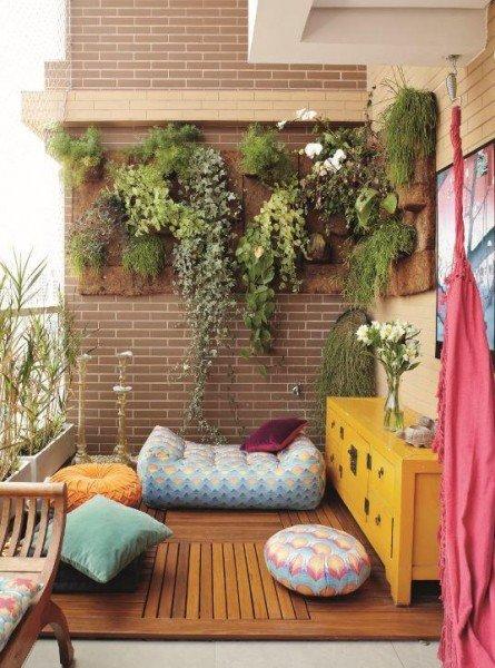terraço pequeno