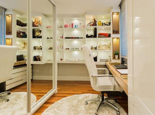 Escritório e closet