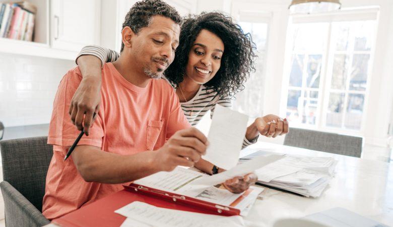 organizar vida financeira