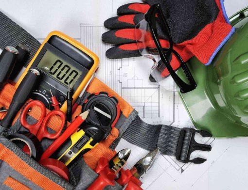 equipamentos de proteção para eletricista